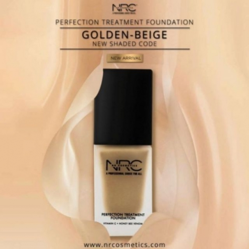 NRC FOUNDATION GOLDEN BEIGE (OLD PACK) (CS)