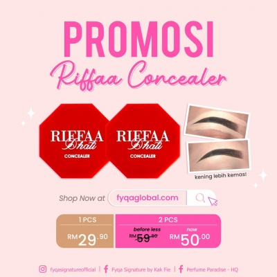 RIFFA CONCEALER (COMBO 2PCS)